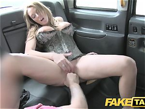 faux taxi rigid hookup and anilingus before facial popshot