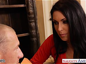 buxomy wifey Jessica Jaymes tearing up well