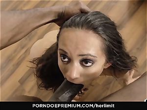 HER confine - harsh nail festival with dark-haired rectal paramour