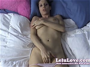 pov masturbating your meatpipe to my naked assets then jizm