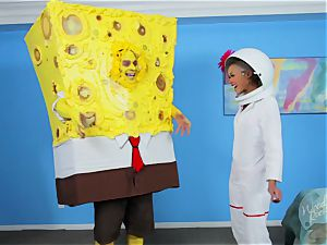 skin Diamond - Spongebob Squarepants and Sandy - a hardcore Parody