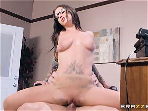 Felicity Feline nailed deep in her pussyhole