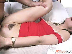 stellar Riley Reid jammed rock hard in her lil' muff