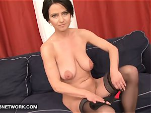 Mature rough double screwed luvs giant black rods muff