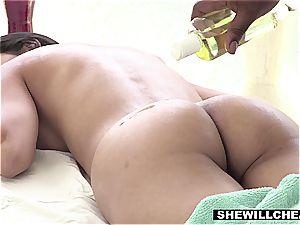 SheWillCheat - steamy wifey Cheats With humungous dark-hued man-meat