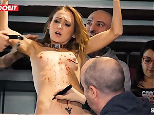 Ukrainian stunner Gets numerous ejaculations in sizzling sadism & masochism party
