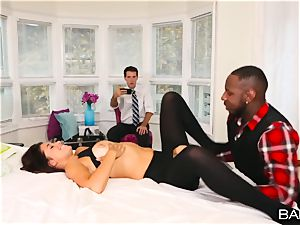 Izzy Bell hotwife session with a ample big black cock
