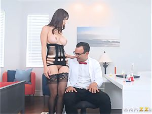 Lexi Luna penetrating in the office