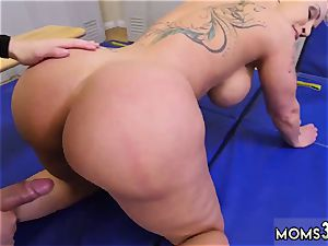 meaty butt mummy ravage nubile superior mummy Gets A internal ejaculation After rectal fuck-a-thon
