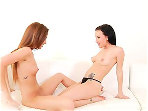 Maddy OReilly likes taunting Katie St Ives raw vagina