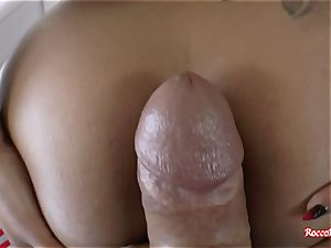warm ebony stunner porked in the culo in point of view pornography