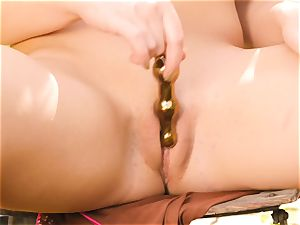 St Patricks Day solo snatch frolicking Blair Williams