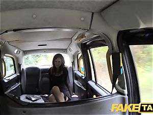 faux taxi Posh chicks swollen slit and backside boned